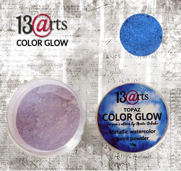 Color Glow - Topaz - gyöngyházfényű pigmentpor