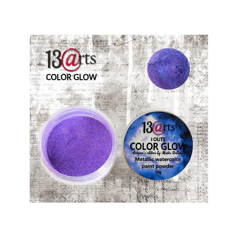 Color Glow - Iolite - gyöngyházfényű pigmentpor