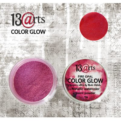 Color Glow - Fire Opal - gyöngyházfényű pigmentpor