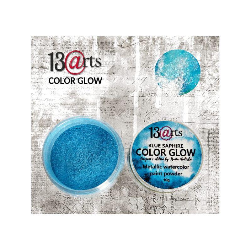 Color Glow - blue saphire