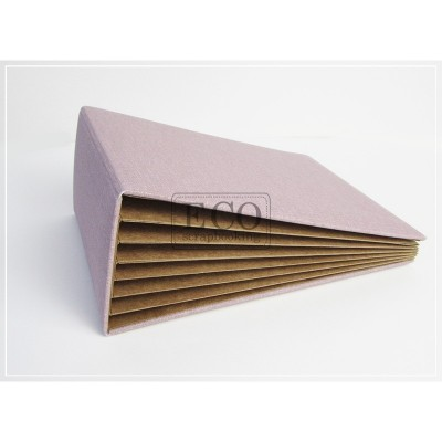 Levendula 3D album vászon borítással - 13x18 cm, 6 lapos