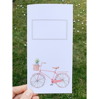 Journey Notebook - So Romantic - Bicycle