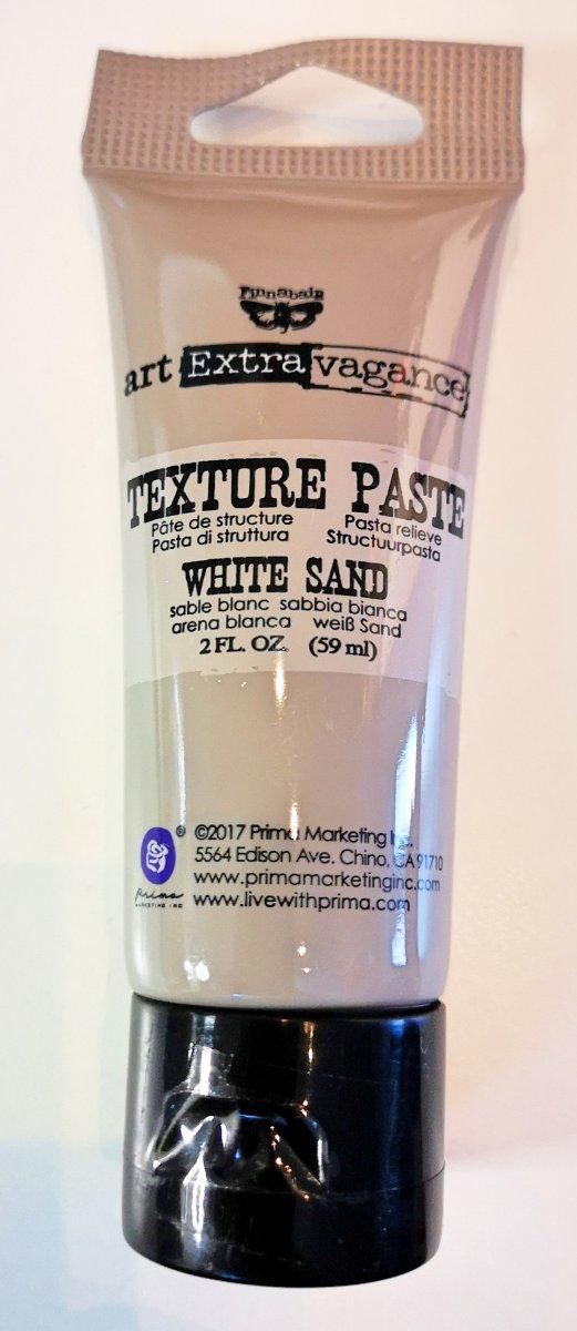 Finnabair - Art Extravagance - Texture Paste - White Sand