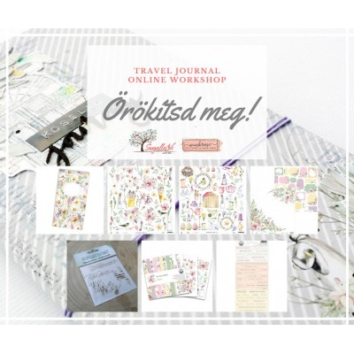ÚJ ALKOTÓCSOMAG - Örökítsd meg! travel journal
