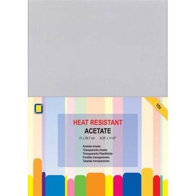 Hőálló acetát lap - A4 (10 db)