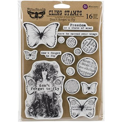 Finnabair - Don't Forget to Fly Cling Stamps