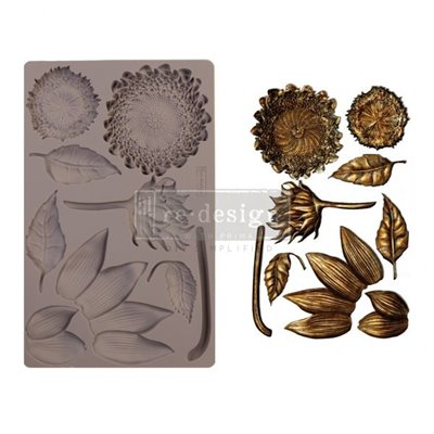 Re-Design with Prima Forest Treasures Mould - Szilikonforma