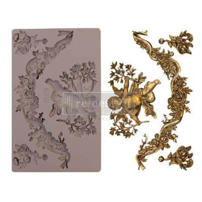 Re-Design with Prima Divine Floral Mould - Szilikonforma