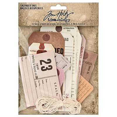 Idea-ology Tim Holtz Salvaged Tags