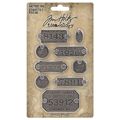 Idea-ology Tim Holtz Factory Tags