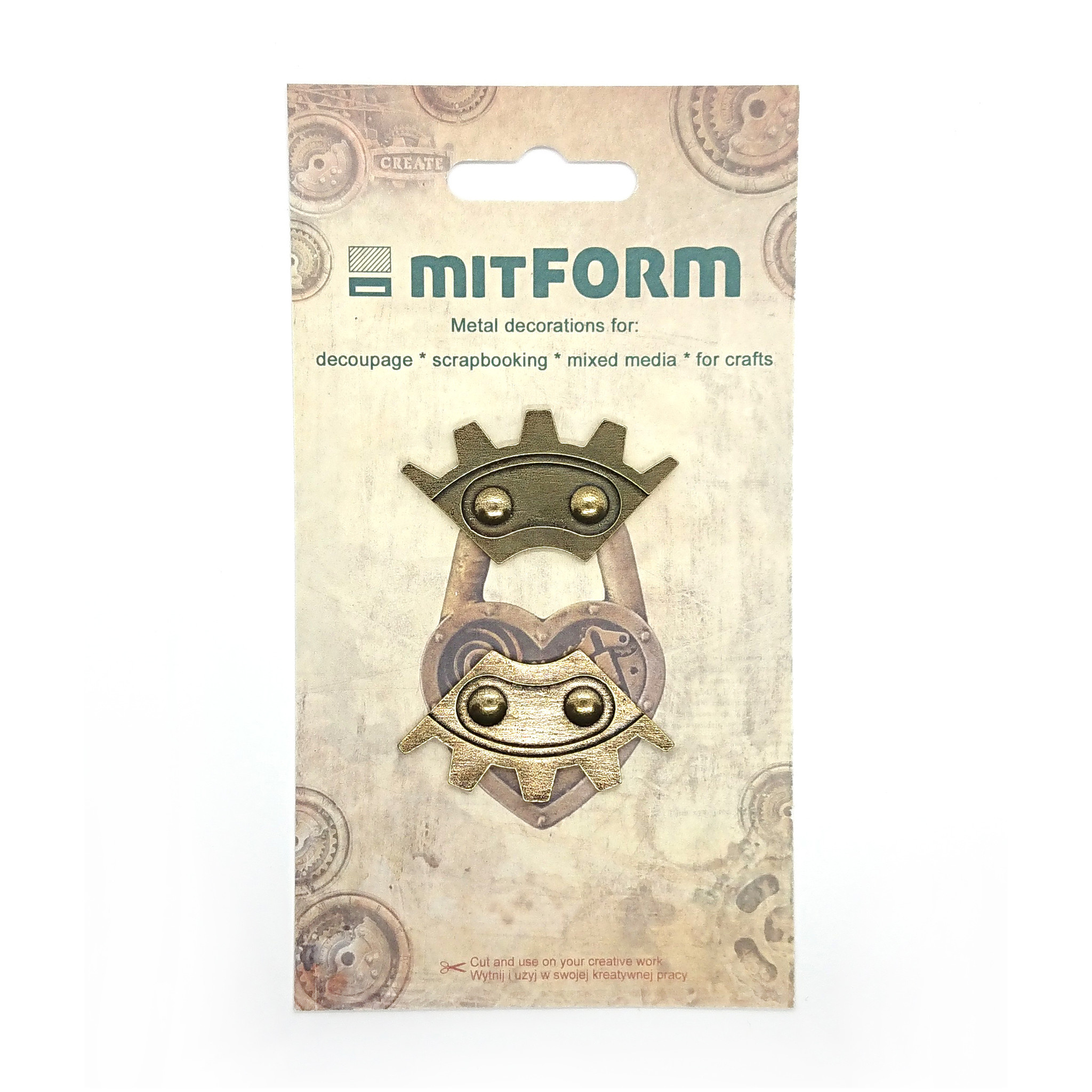 Mitform Corners 8 Metal Embellishments