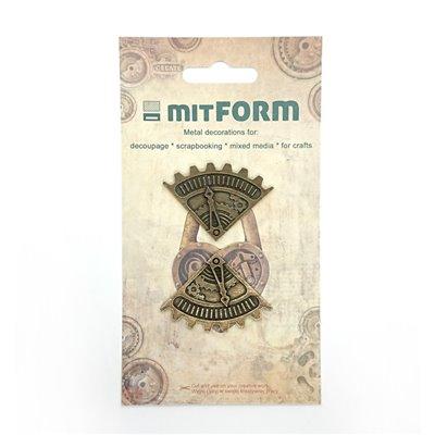 Mitform Corners 7 Metal Embellishments