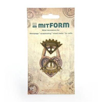 Mitform Corners 6 Metal Embellishments