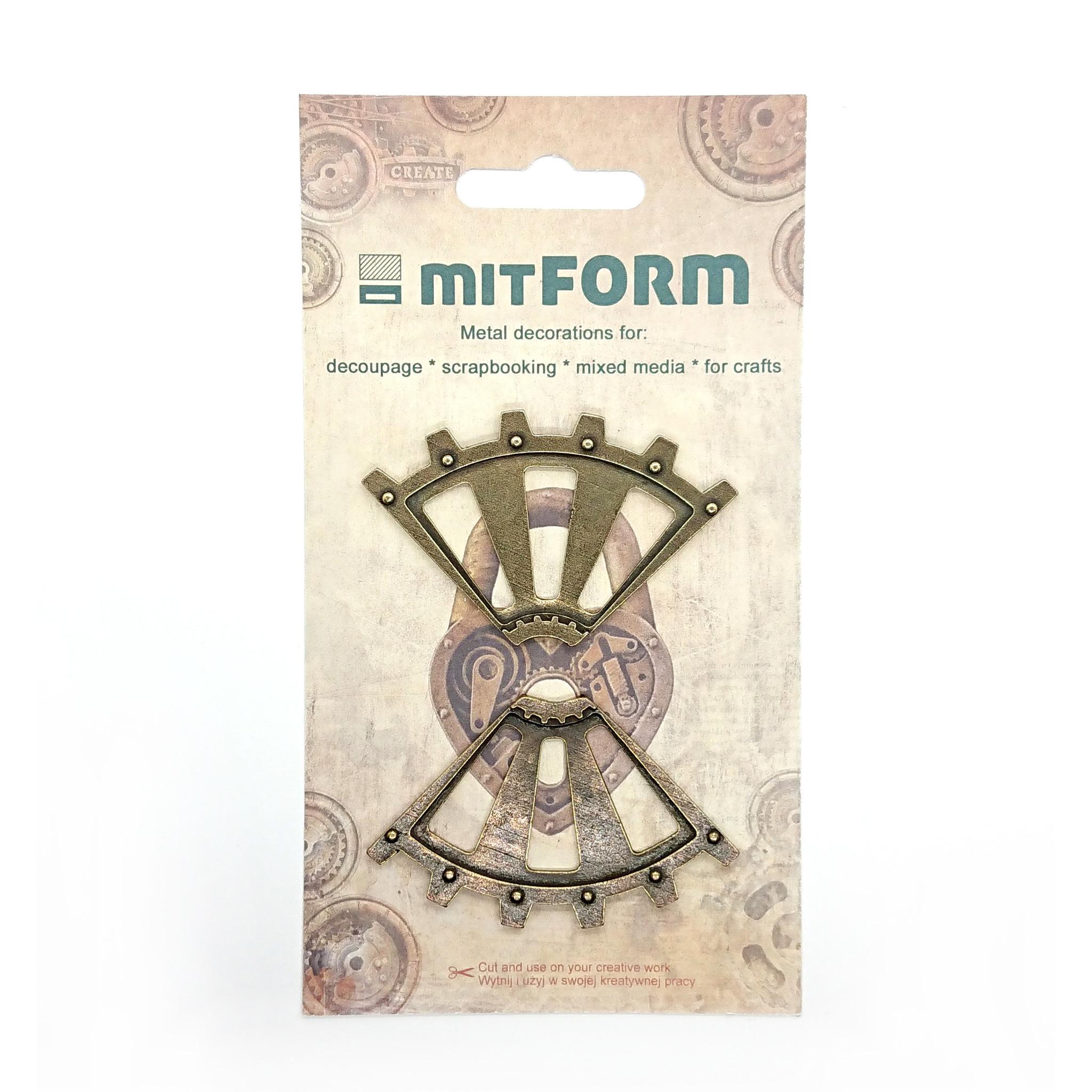 Mitform Corners 2 Metal Embellishments