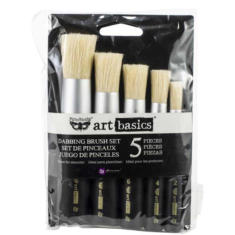 Finnabair - Art Basics - Dabbing Brush Set