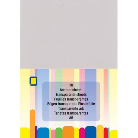 Acetát lap - A5 (10 db)