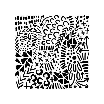 Stencil - texture love