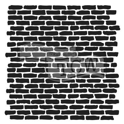 Stencil - micro bricks