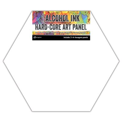 Hard-core Art panel 10cm - Hexagons (3 db)