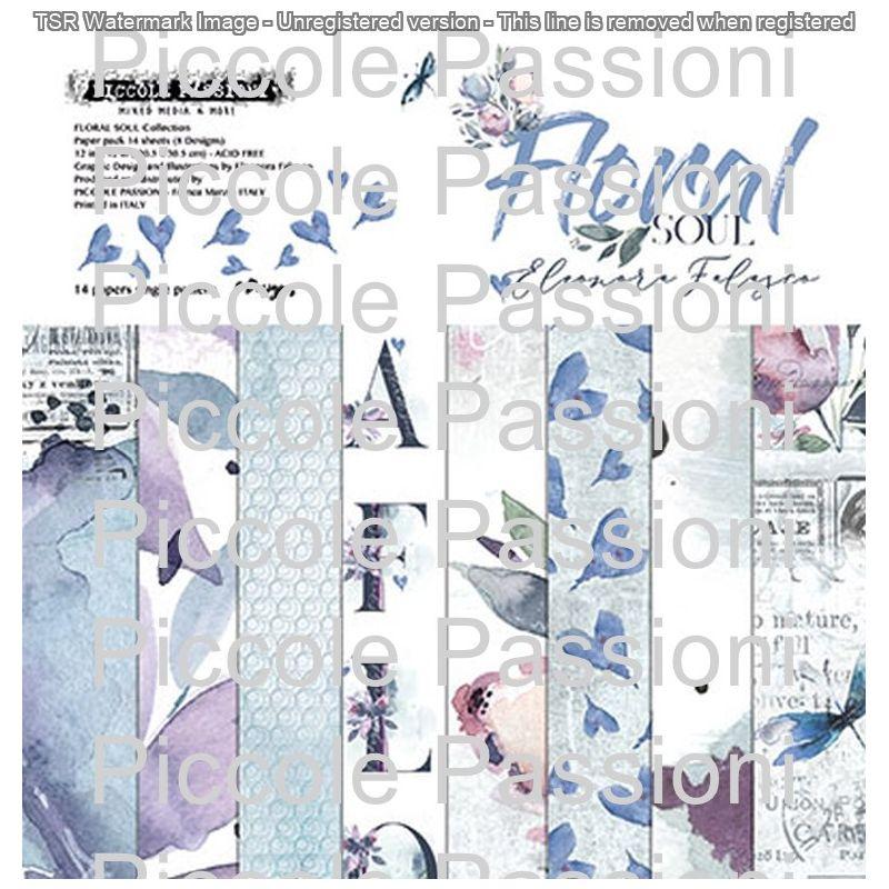 """Floral Soul 12""""-es papírkészlet"""