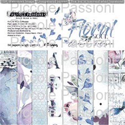 """Floral Soul 6""""-es papírkészlet"""
