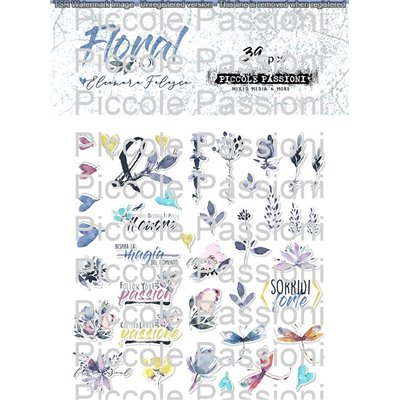 Floral Soul kivágatok (39db)