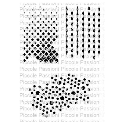 Geometric szilikon háttérbélyegző szett 1