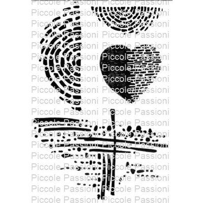 Heart Bricks szilikonbélyegző