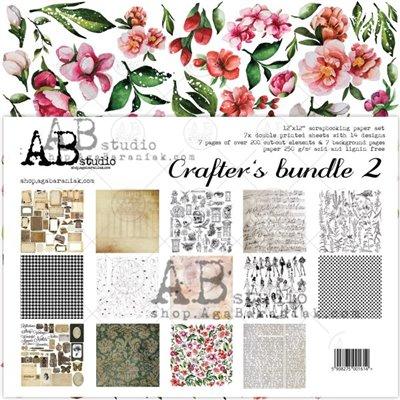 Crafters bundle 2 - 12x12-es scrapbook papír szett