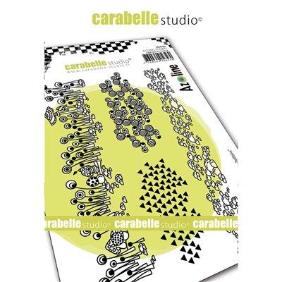 Carabelle gumibélyegző - A6 frises des zolitins