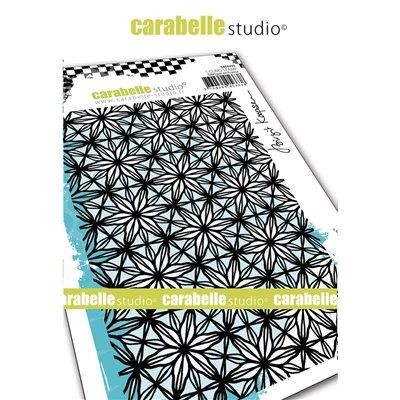 Carabelle gumibélyegző - A6 floral lace
