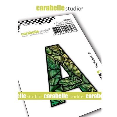 Carabelle gumibélyegző - small alphabet A