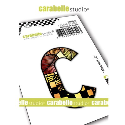 Carabelle gumibélyegző - small alphabet C