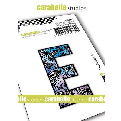Carabelle gumibélyegző - small alphabet E
