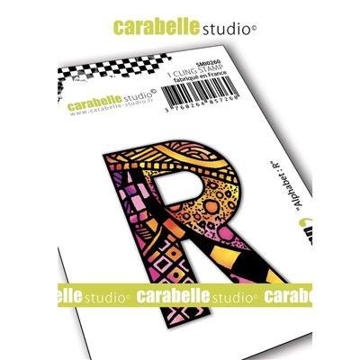 Carabelle gumibélyegző - small alphabet R