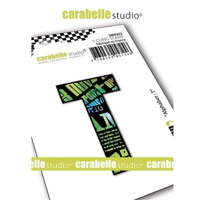 Carabelle gumibélyegző - small alphabet T
