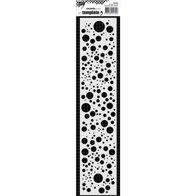 Carabelle Stencil - toujours des ronds