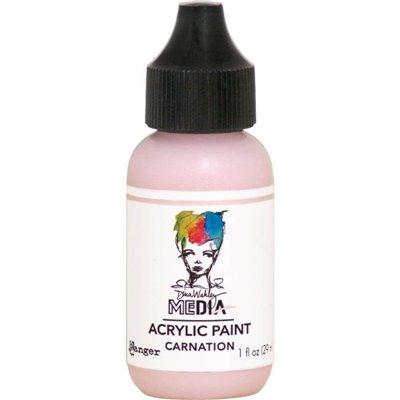 Dina Wakley Heavy Body Acrylic Paint - carnation