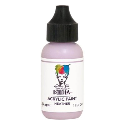 Dina Wakley Heavy Body Acrylic Paint - heather
