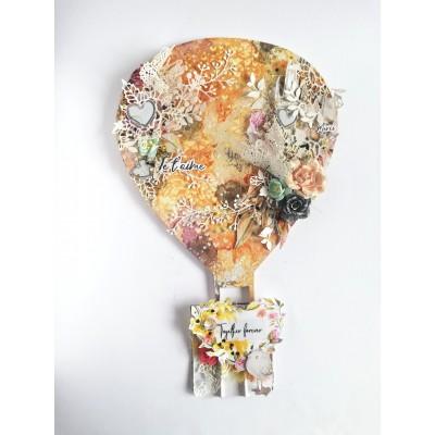 Szerelem ballon dekor