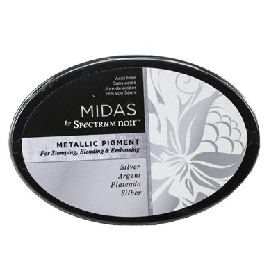 Spectrum Noir - Midas Metallic Ink Pad - Silver