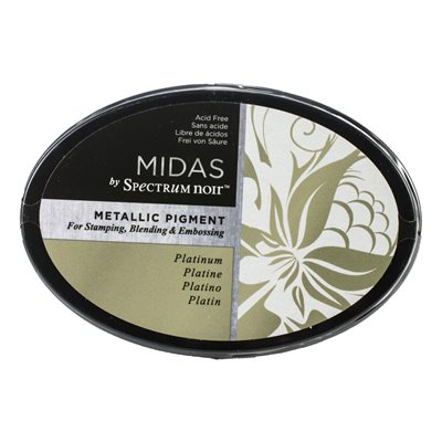 Spectrum Noir - Midas Metallic Ink Pad - Platinum