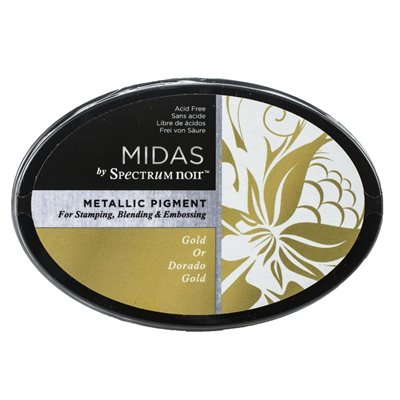Spectrum Noir - Midas Metallic Ink Pad - Gold