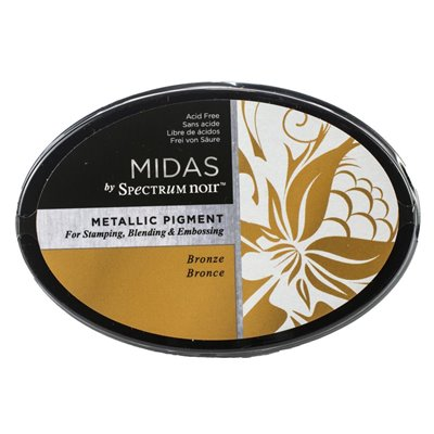 Spectrum Noir - Midas Metallic Ink Pad - Bronz