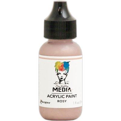 Dina Wakley Media Acrylic Paint - rosy