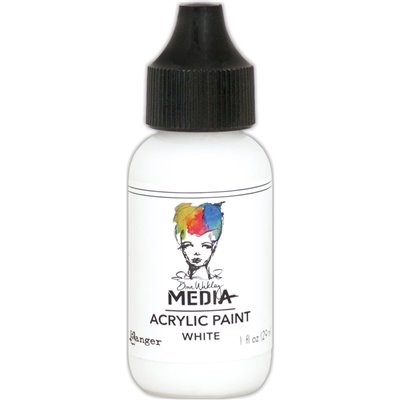 Dina Wakley Media Acrylic Paint - white