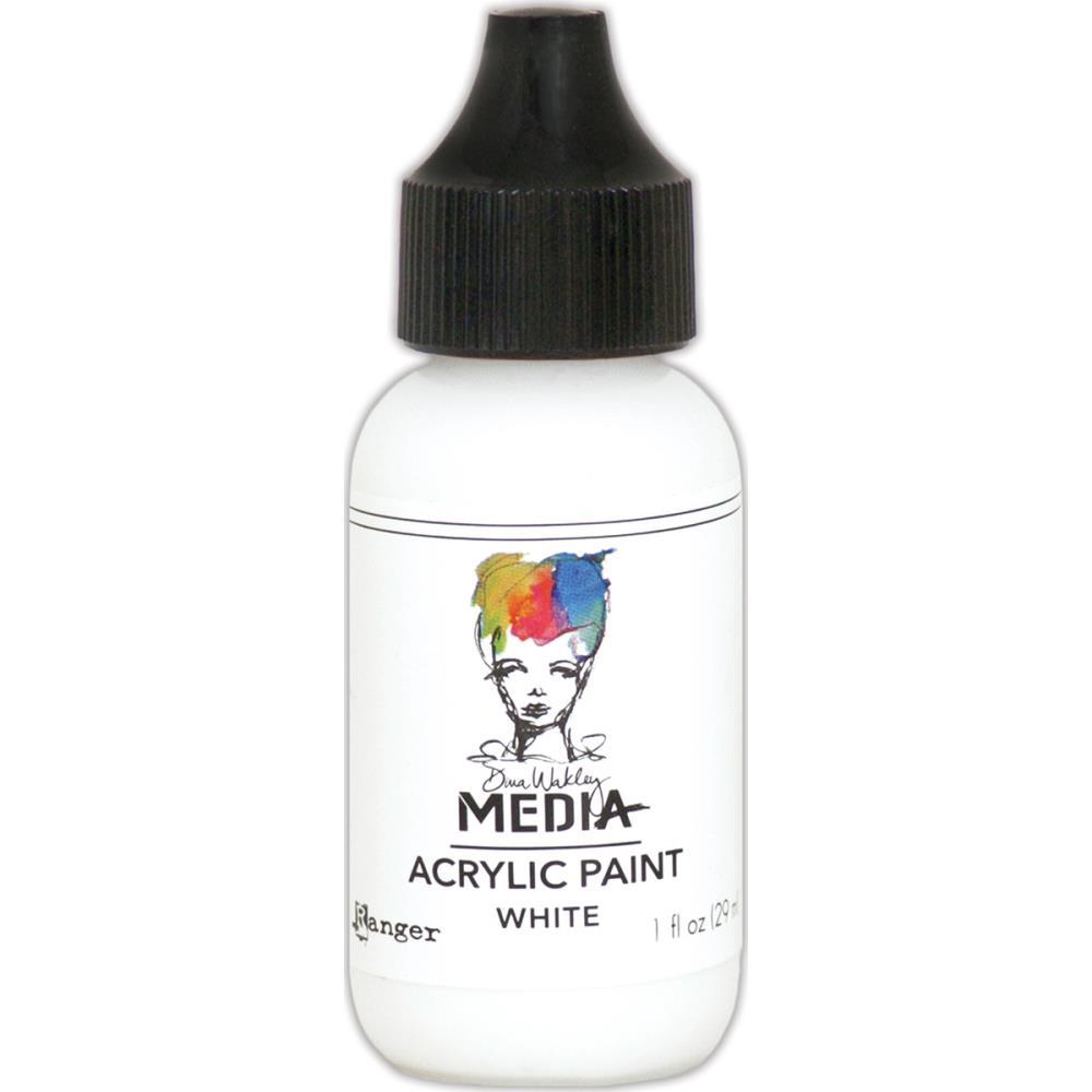Dina Wakley Media Acrylic Paint - white
