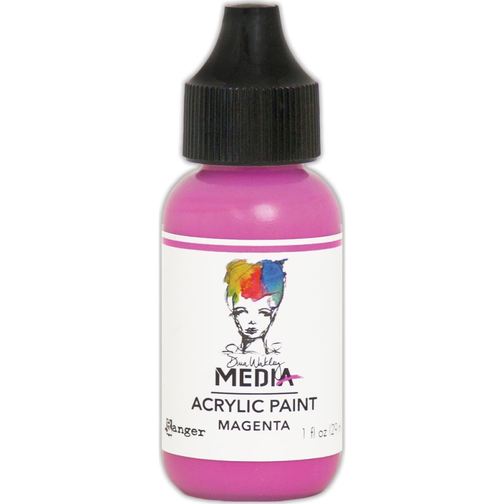 Dina Wakley Media Acrylic Paint - magenta