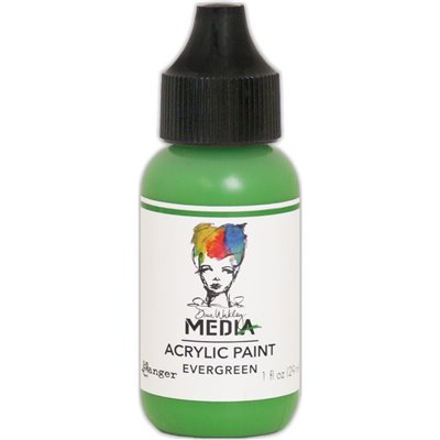 Dina Wakley Media Acrylic Paint - evergreen