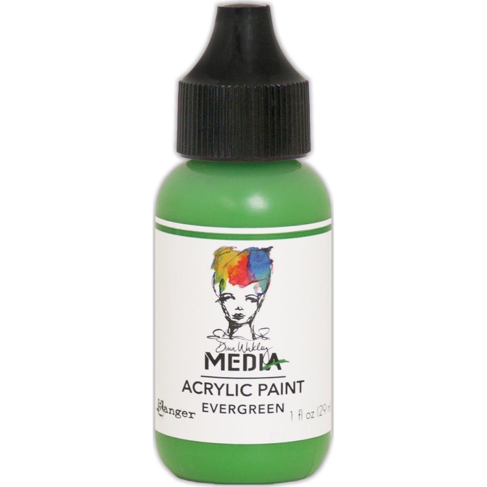 Dina Wakley Media Acrylic Paint - evergreen